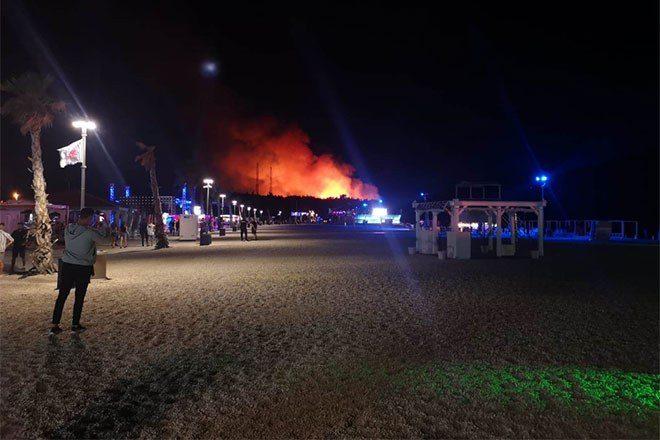 Fresh Island Festival in Croatia evacuated due to forest fire