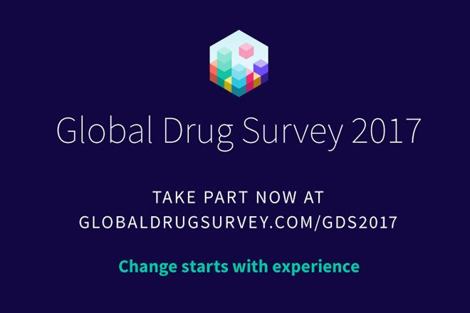 The 2017 Global Drug Survey is now open