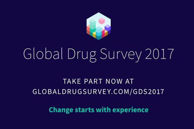 Die Global Drug Survey 2017 ist nun eröffnet