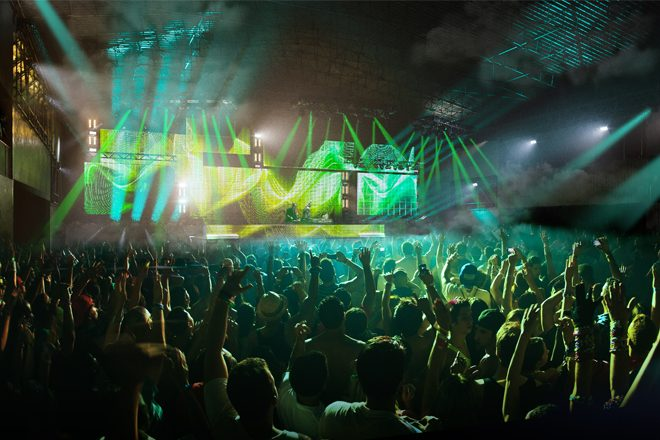 Generator is the new industrial stage at Creamfields