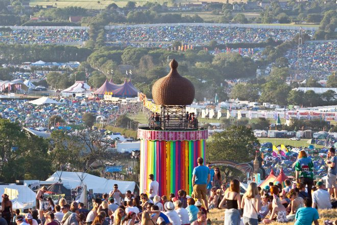 Extinction Rebellion is staging a protest at Glastonbury