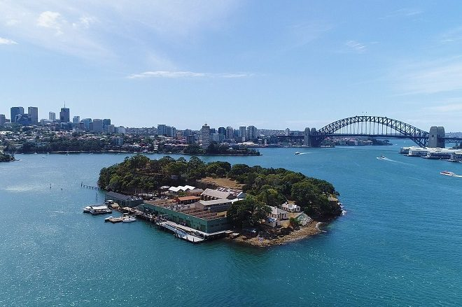 Output Festival hits an island in Sydney Harbour this weekend