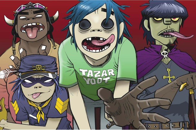 Gorillaz announce their Demon Dayz festival line-up with Danny Brown, Vince Staples