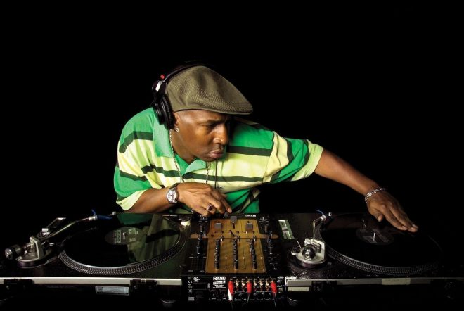 Grandmaster Flash admits much of his record collection came from ex-girlfriends