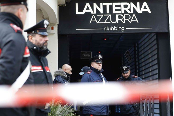 Six people have died in a nightclub stampede in Italy