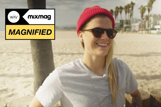 J. Worra is taking over the festival scene in Magnified's documentary series
