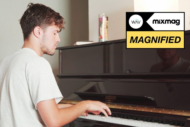 Jerry Folk relishes the excitement of live performance in Magnified's documentary series