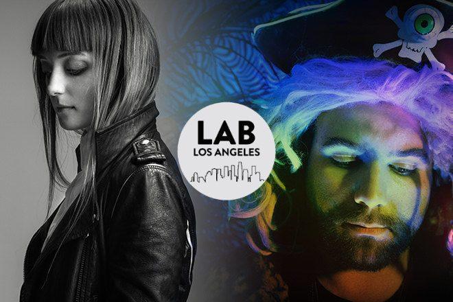 J.Phlip and Dink in The Lab LA