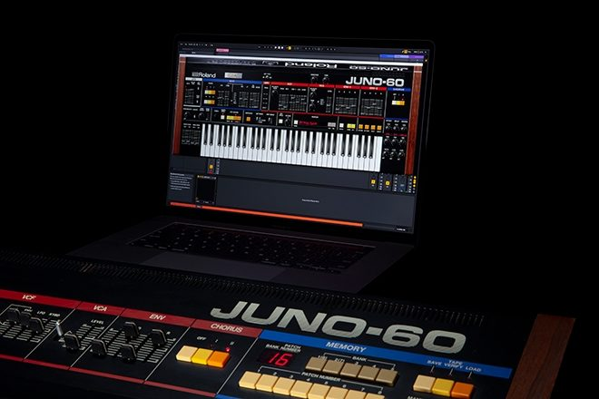 Roland has recreated the JUNO-60 as a software synthesiser