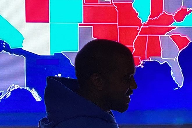 Kanye West concedes defeat in US presidential race after picking up 60,000 votes