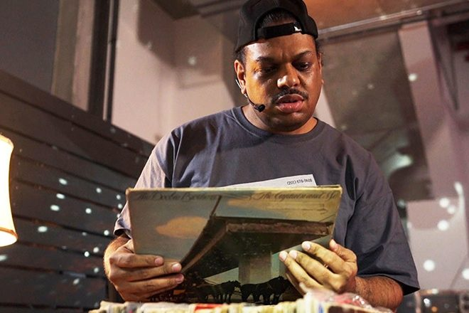 Watch Kerri Chandler open a box of his father's records for the first time