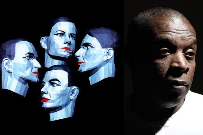 Kraftwerk played with Kevin Saunderson at their Detroit afterparty last night