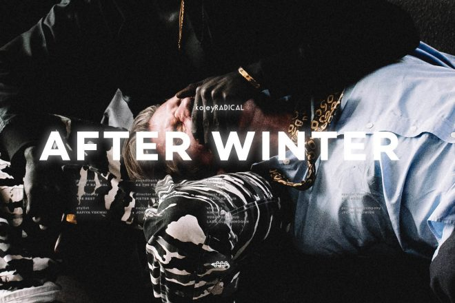 Kojey Radical has unveiled defiant, dystopian visuals for new single 'After Winter'