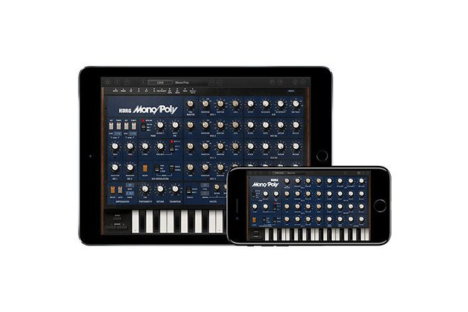 You can now download a Korg Mono/Poly for your phone