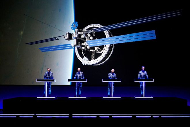 Kraftwerk are taking a very special 3-D show to Dimensions Festival