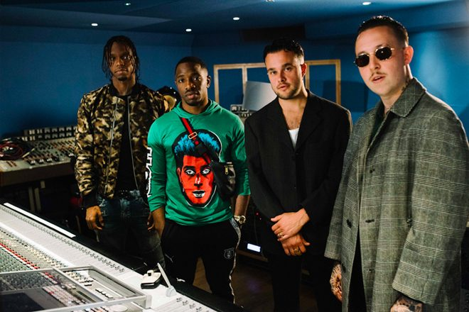 Krept & Konan team up with Slaves for new live-to-vinyl single at Abbey Road Studios