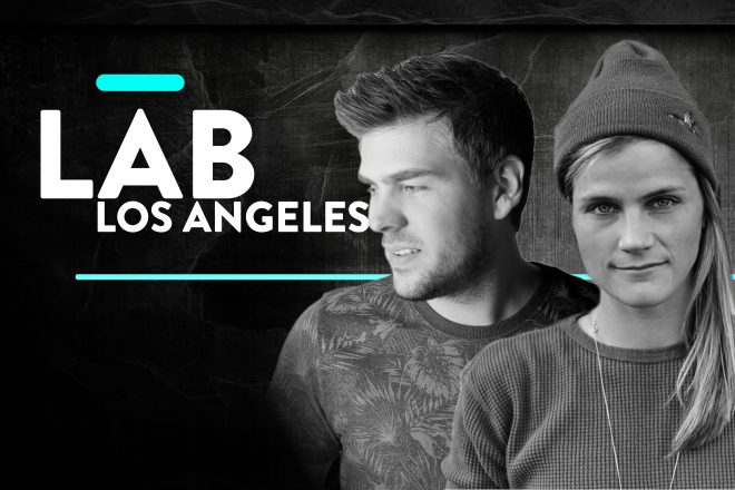 Kyle Watson and J. Worra in The Lab LA