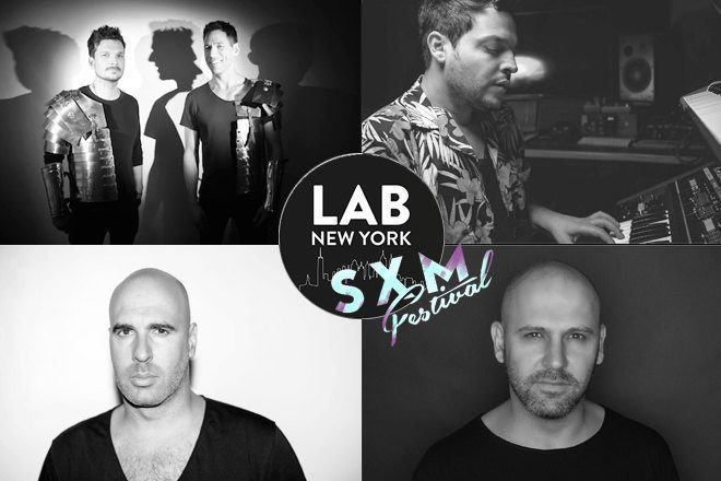 SXM Festival Takeover with Thugfucker, Chaim, Vanjee and Nadav Vee in The Lab NYC