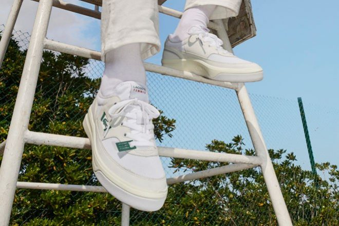 Lacoste reissues three of its classic trainers for the Heritage Collection