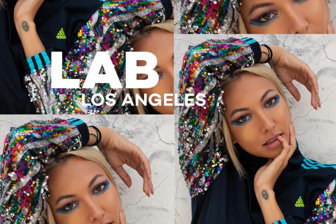 Lauren Lane in the Lab LA