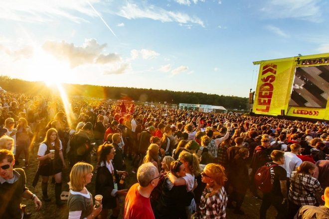 A drug dealer texted his price list to the police at Leeds Festival