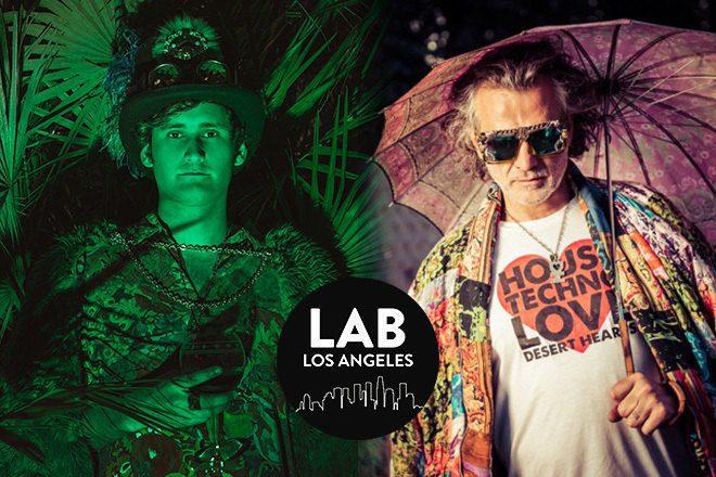 Mikey Lion b2b Lee Reynolds in The Lab LA