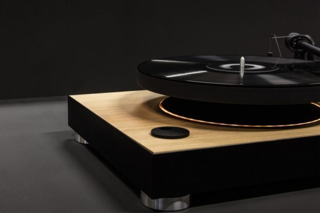 'Floating' turntable is coming out after raising nearly $500,000 on Kickstarter