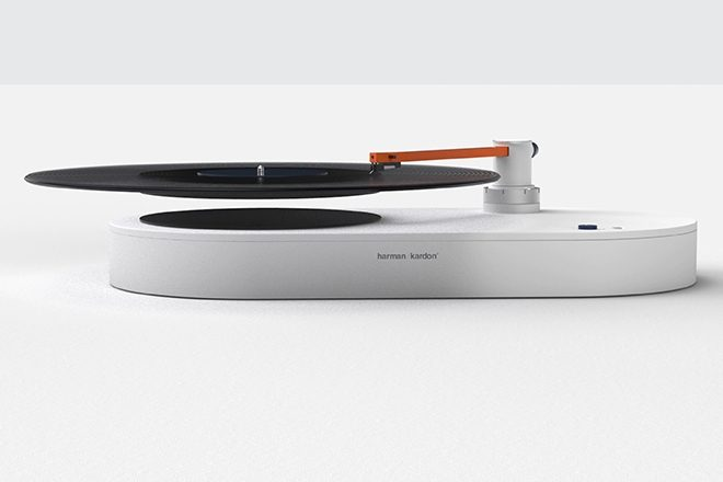 This turntable makes your vinyl records float