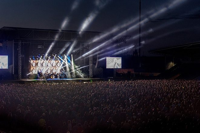 A 5,000-capacity, non-socially distanced festival is being trialled in the UK
