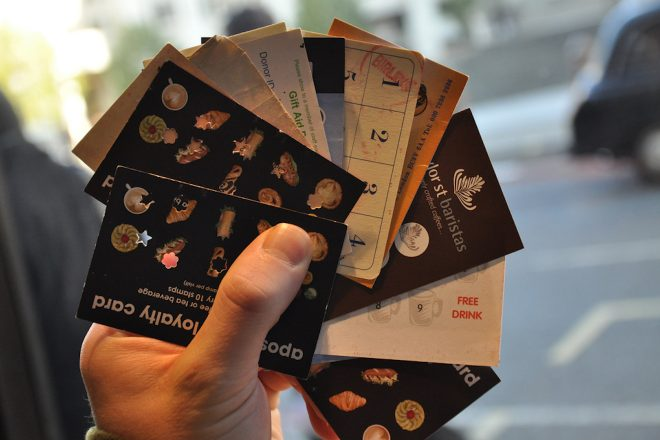 Drug dealers are now using loyalty cards similar to those from coffee shops