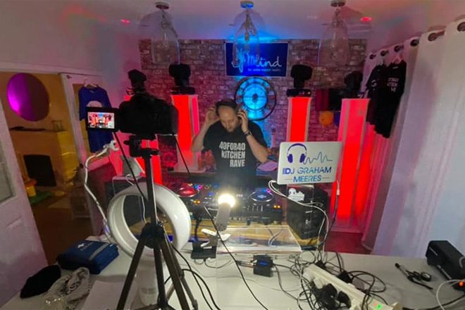 A DJ played for a mammoth 40 hours and raised £25k for charity