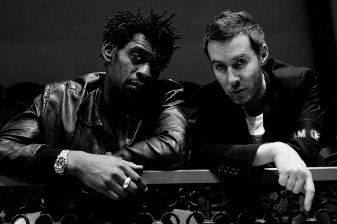 Massive Attack played a DJ set for the Extinction Rebellion protest in London
