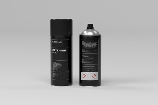 Massive Attack's DNA-encoded 'Mezzanine' reissue is available as a spray can
