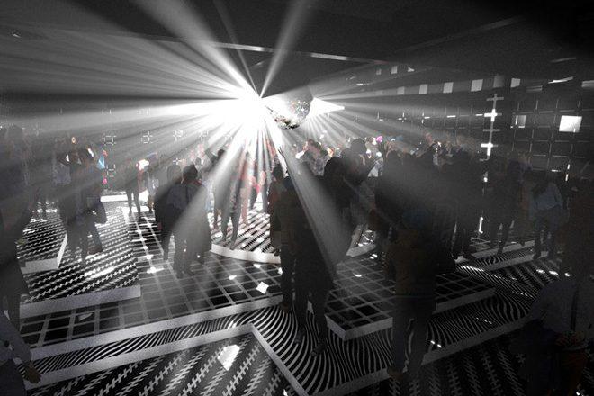 "A former 1920s film studio is turning into a ""schizophrenic"" nightclub"