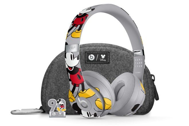 These Mickey Mouse x Beats headphones are cute af