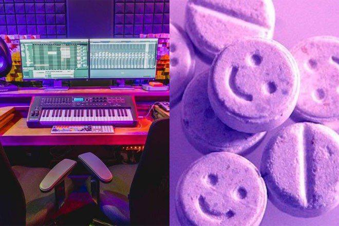 Reddit user ranks how good different drugs are for making music