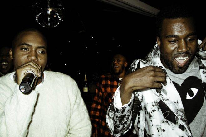 Kanye West has produced Nas' new album
