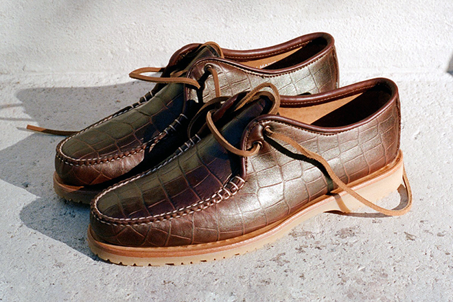 "NOAH and Sperry link up for a revamped ""Captain's Oxford"" shoe"
