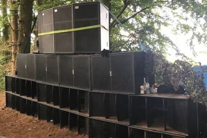 Police took 20 hours to shut down an illegal rave in Norfolk