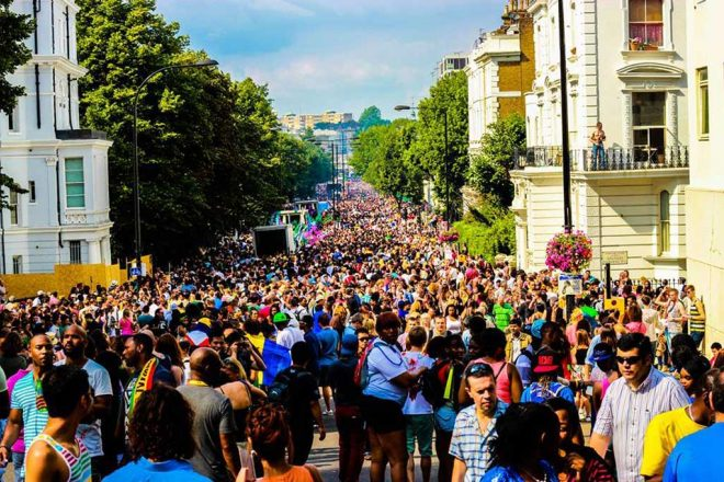 ​Injuries reported after acid attack hits Notting Hill Carnival