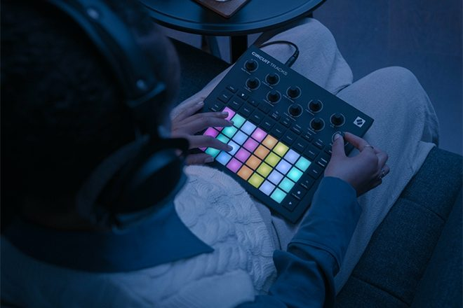 Novation introduces its new groovebox, Circuit Tracks