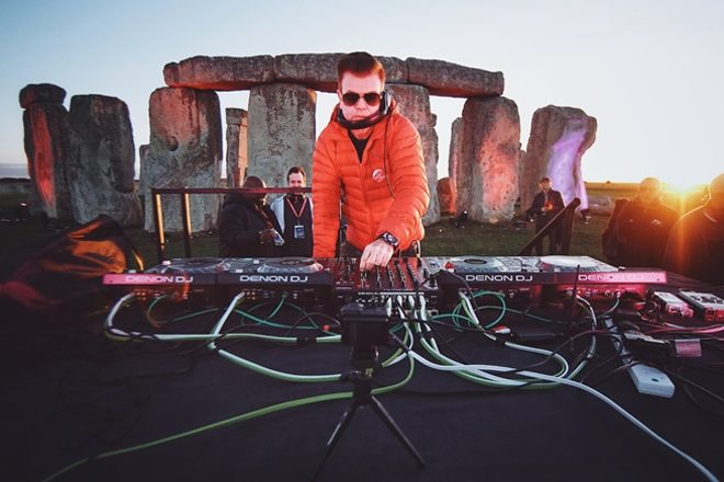 Paul Oakenfold has become the first ever DJ to play at Stonehenge