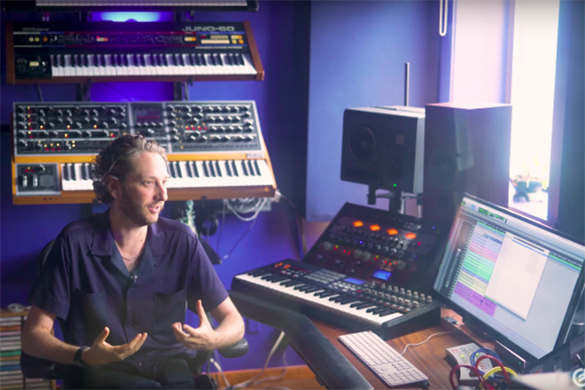 Go behind the scenes of 'Uncut Gems' soundtrack with Daniel Lopatin and Moog