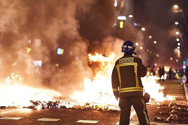 Rapper arrested for anti-police lyrics sparks protests in Spain