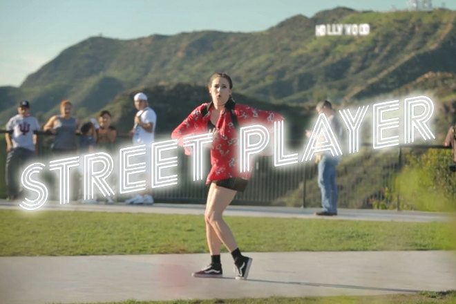 PENNYWILD dances on her own 'Eighto' for Street Player LA