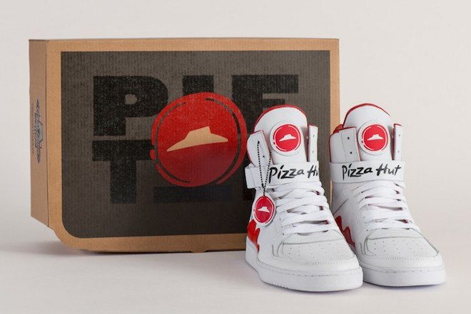 Pizza Hut has invented shoes that order pizza for you