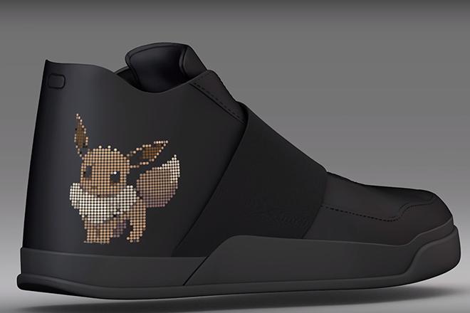 Diese Schuhe vibrieren wenn ein Pokémon in der Nähe ist