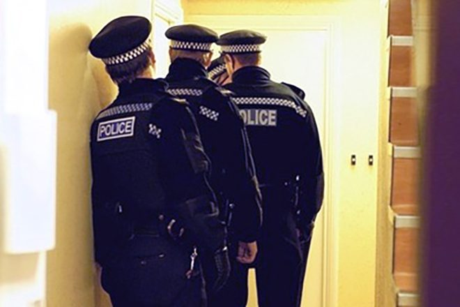 Police chief calls for power to force entry into suspected lockdown breakers' homes