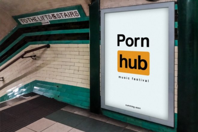 Pornhub is starting a house and techno festival