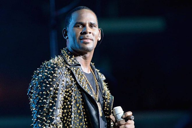 R Kelly's new music is on hold after protests